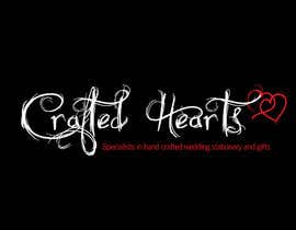 #29 for Design a Logo for Crafted Hearts by Vanai