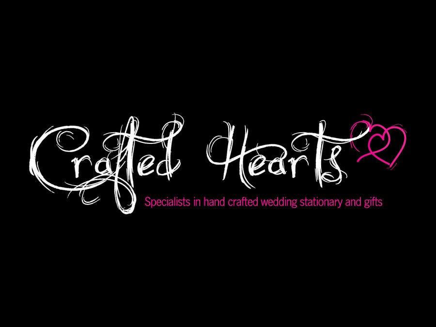 Kilpailutyö #74 kilpailussa Design a Logo for Crafted Hearts