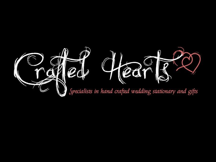 Bài tham dự cuộc thi #75 cho Design a Logo for Crafted Hearts