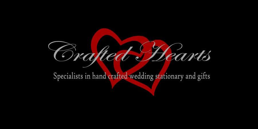 Kilpailutyö #6 kilpailussa Design a Logo for Crafted Hearts