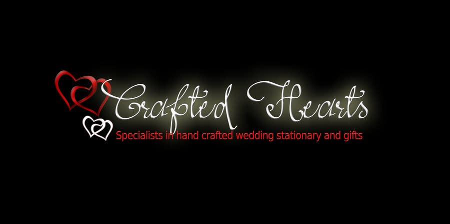 Kilpailutyö #60 kilpailussa Design a Logo for Crafted Hearts