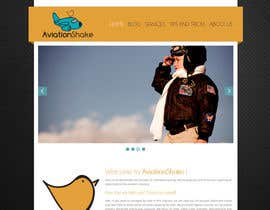 #10 for Create a Wordpress Site for AviationShake.com af Isdesign92