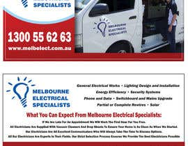 #5 para Graphic Design for Melbourne Electrical Specialists por blacklist08