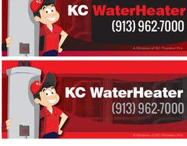 #13 for Design a Banner for KC Water Heater af dirak696