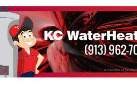 #24 for Design a Banner for KC Water Heater af dirak696