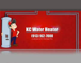 #28 for Design a Banner for KC Water Heater by Artimization