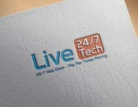 adnaeem12 tarafından Live 24/7 Tech Logo için no 55