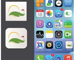 #84 untuk Design a flat icon for a Golf Scorecard app oleh alizainbarkat