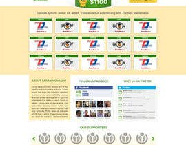 nº 21 pour Design for website front page par atularora