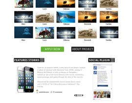 nº 22 pour Design for website front page par Syahriza