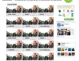#17 for Design for website front page af DoubleBloom