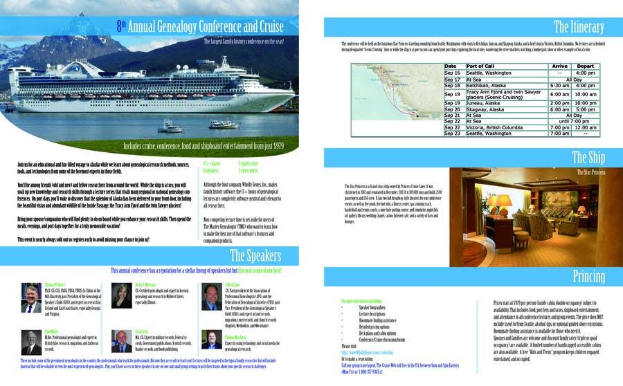 Inscrição nº 20 do Concurso para Brochure Design for Annual Conference and Cruise