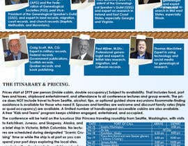 #46 for Brochure Design for Annual Conference and Cruise af PinzLedesign