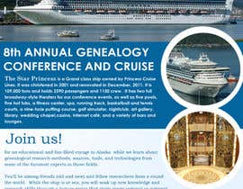 #45 untuk Brochure Design for Annual Conference and Cruise oleh PinzLedesign
