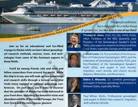 #40 untuk Brochure Design for Annual Conference and Cruise oleh MihaiSincan