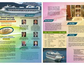 #49 para Brochure Design for Annual Conference and Cruise por smarttaste