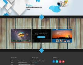 jeransl tarafından Design a Website Mockup for a web development company için no 68