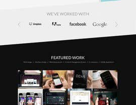 #106 for Design a Website Mockup for a web development company af sekay