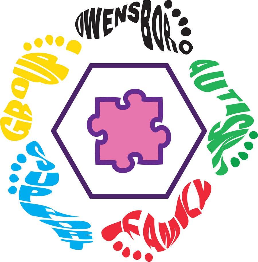 Kilpailutyö #15 kilpailussa Design a Logo for Owensboro Autism Family Support Group