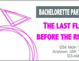 #8 para Design some Business Cards for my business running bachelorette parties por tiannalabau