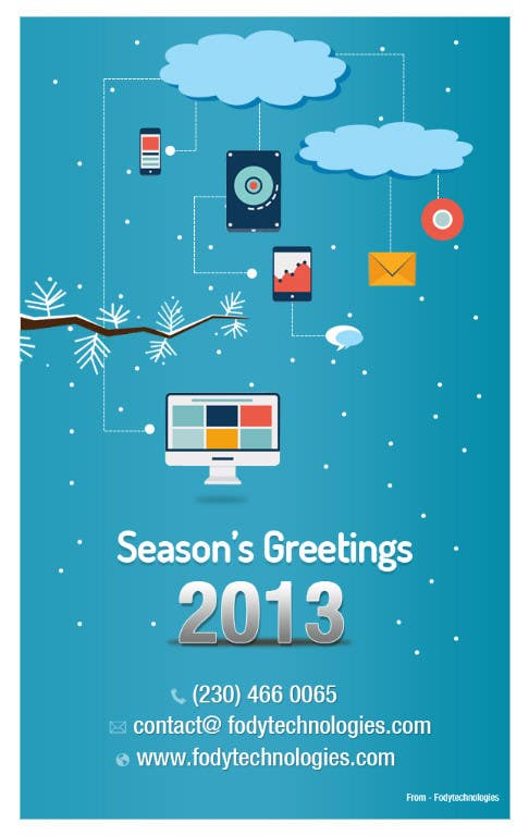 #10 for Illustrate Something for Season's Greetings 2013 by mydZnecoz