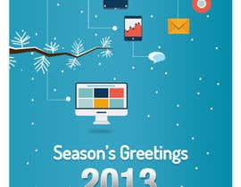 #10 para Illustrate Something for Season's Greetings 2013 por mydZnecoz