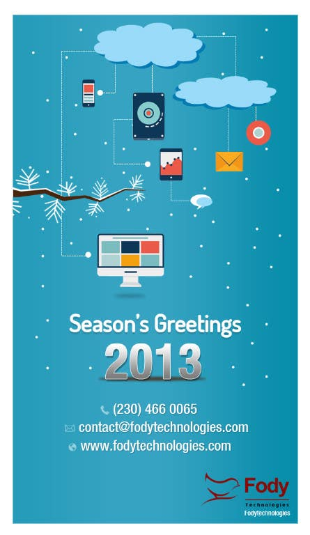 #11 for Illustrate Something for Season's Greetings 2013 by mydZnecoz