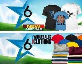 Nro 16 kilpailuun Design 2 Banner for Clothing store käyttäjältä dekaszhilarious