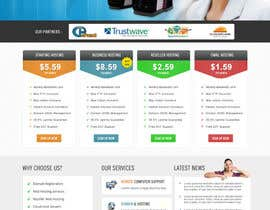 #9 untuk Build a Website Mock up for a web hosting company oleh opensource50
