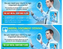 #45 for Design a Banner for my wordpress plugin af bannersworld