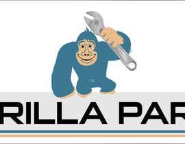 #4 untuk Gorilla mascot required... oleh ilustraccion