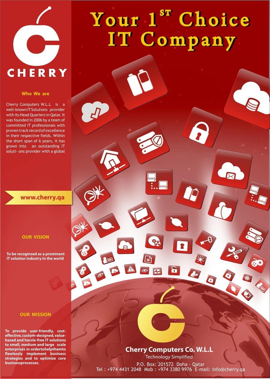 Inscrição nº                                         55                                      do Concurso para                                         Brochure Design for Cherry Computers Co. W.L.L.