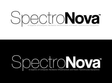 Nro 25 kilpailuun Design a Logo for SpectroNova: A Supplier of Computer Hardware Infrastructure and Power Transmission Equipment käyttäjältä creativeartist06