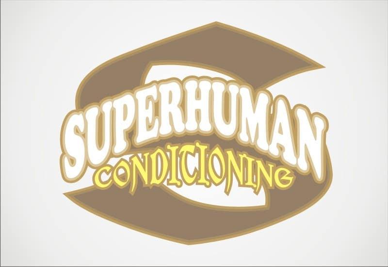 Penyertaan Peraduan #17 untuk Design a 'comic book style' Logo for: Superhuman Conditioning