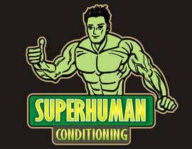 nº 29 pour Design a 'comic book style' Logo for: Superhuman Conditioning par artist4