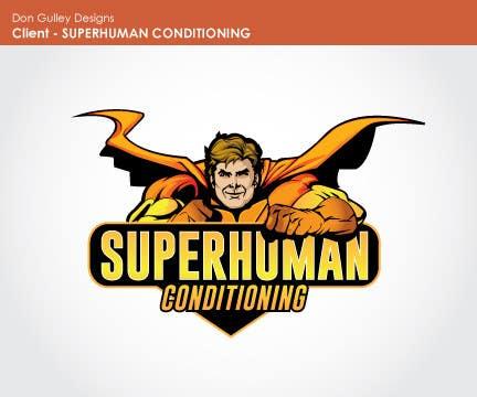 Penyertaan Peraduan #8 untuk Design a 'comic book style' Logo for: Superhuman Conditioning