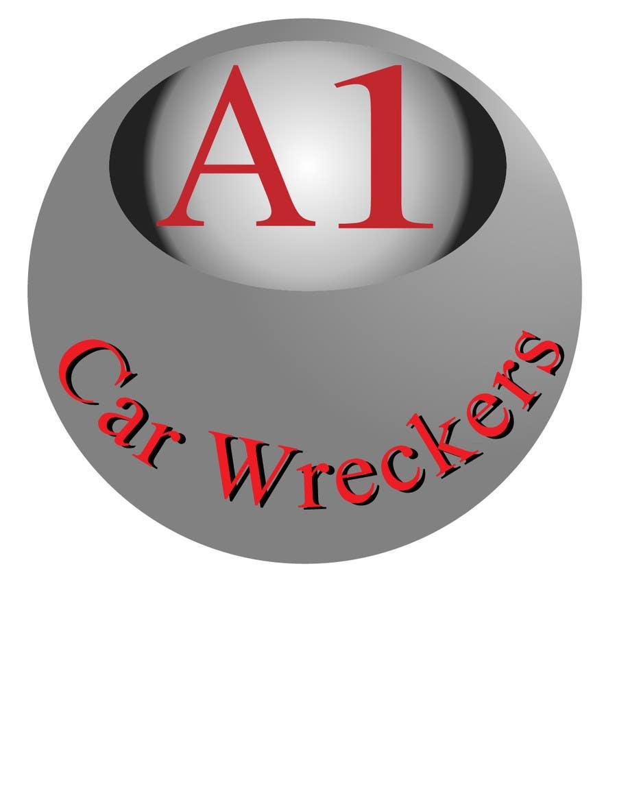 Penyertaan Peraduan #14 untuk Design a Logo for A1 Car Wreckers