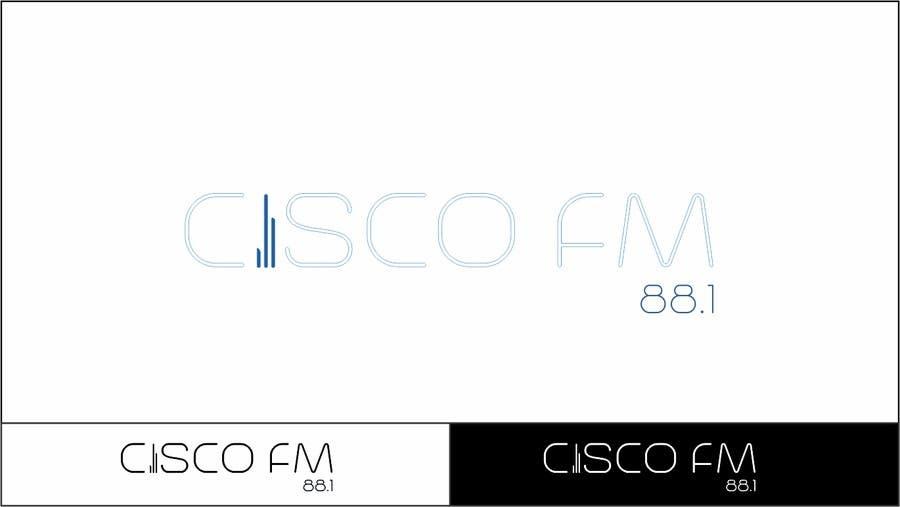 Kilpailutyö #78 kilpailussa Design a Logo for a radio station