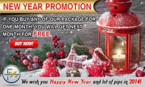 Contest Entry #52 for Design a Banner for New Year Promotion