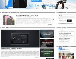 #24 for Design a Website Mockup for our Brand af junaidiey