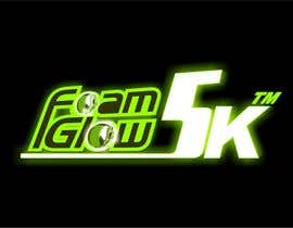 #54 para Design a Logo for Foam Glow 5K por SAbhijeet