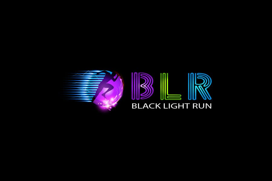 Konkurrenceindlæg #34 for Design a Logo for Blacklight Run