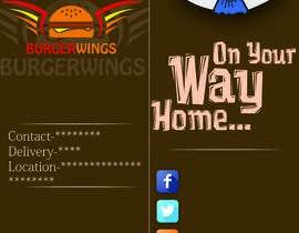 Nro 4 kilpailuun burger restaurant menu käyttäjältä mrmeekah