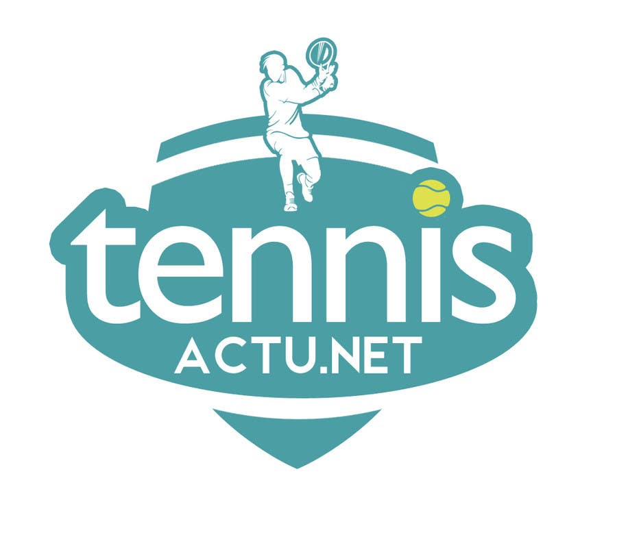 Proposition n°5 du concours Make a logo for TennisActu a new rebranding website about tennis