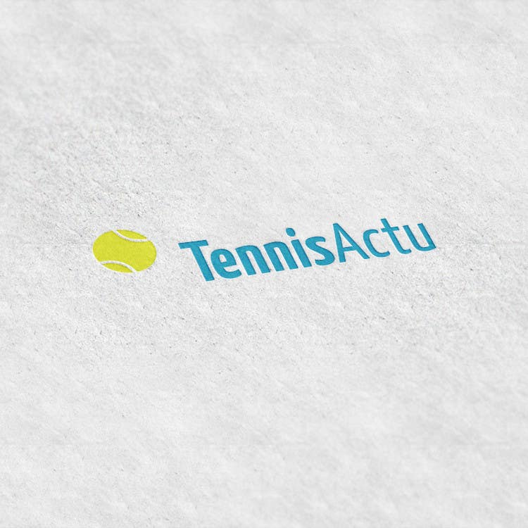 Proposition n°1 du concours Make a logo for TennisActu a new rebranding website about tennis