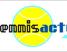 nº 13 pour Make a logo for TennisActu a new rebranding website about tennis par iliemitrea