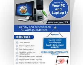 Nro 4 kilpailuun Design a Flyer For Computer / Phone Repair käyttäjältä islamrobi714