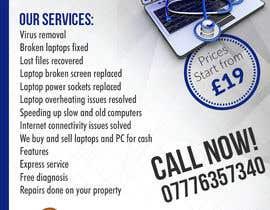 zhoocka tarafından Design a Flyer For Computer / Phone Repair için no 6