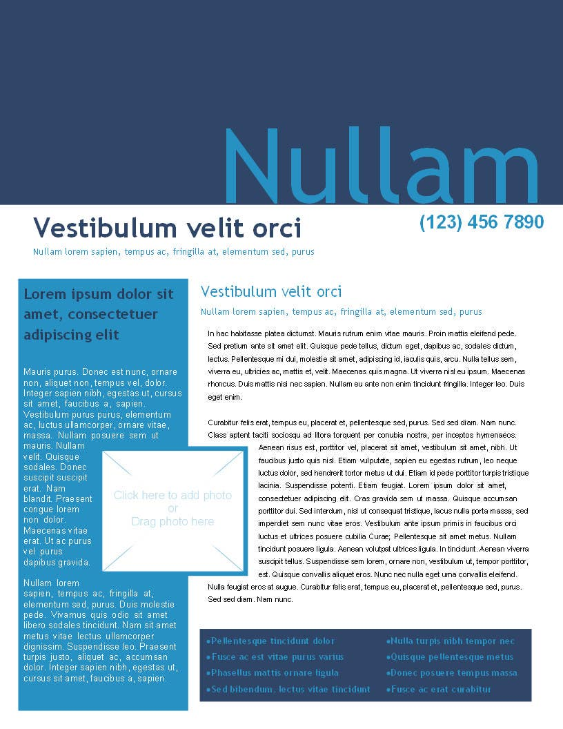 Konkurrenceindlæg #1 for Design a Newsletter for Baillieu Holst Weekly Newsletter