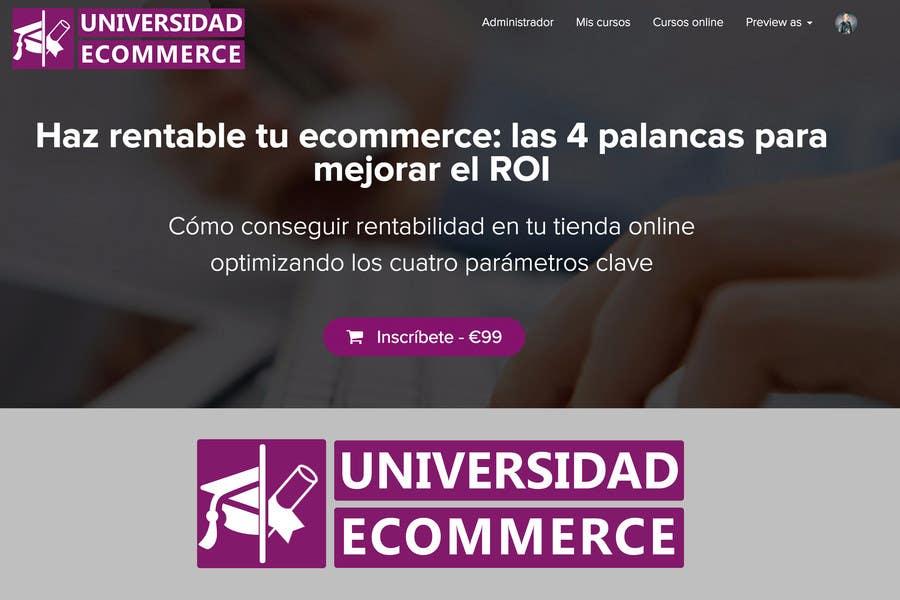 Penyertaan Peraduan #                                        43                                      untuk                                         Logo design for ecommerce university